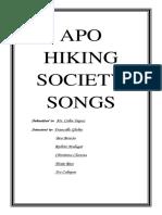 Apo Hiking Society Songs