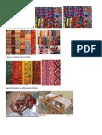 Colores y Simbolos de Los Textiles