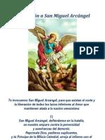 Invocación a San Miguel Arcangel