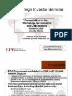 EPR EB5 Presentation Slides Final