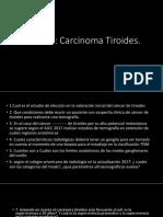 Examen tiroides