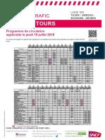 Tours-Vierzon-Bourges-Nevers 19 juillet