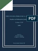 David T. Runia-Studia Philonica Annual_ Studies in Hellenistic Judaism, Vol. XVII, 2005 (Brown Judaic Studies 344) (2005).pdf