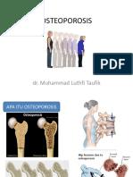 Penyuluhan Osteoporosis