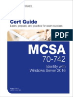 MCSA 70-742 Cert Guide_ Identity With Windows Server 2016-Pearson IT Certification