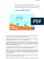 02. ÁGUA SUBTERRÂNEA - O ciclo