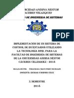 Univercidad Andina Nestor Caceres Velazques