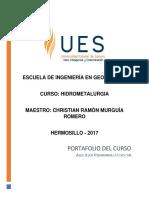 Portafolio Hidrometalurgia - Alex Jesús Huamanvilca Ichocan.pdf
