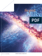 Great Milky Way Andromeda Collision