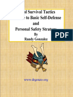 Social Survival Tactics - A Guide to Basic Self-Defense and Personal Safety Strategy