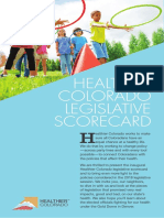 2018 Healthier Colorado Health Scorecard