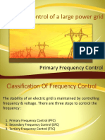 Primary Freq. Control