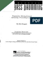 Drum Bob Burget Progressive Double Bass Drumming