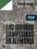 Engels Friedrich. Las Guerras Campesinas en Alemania.