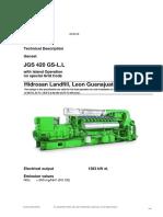 LFGE León - Motores - Especificaciones