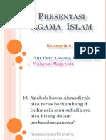 Agama Islam - Ahmadiyah dan Aliran Sesat