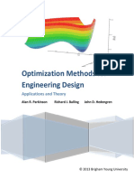 3 Optimization Methods for Engineering Design Book