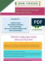 Keselamatan dan Kesehatan Kerja (K3) - Peraturan Perundang-Undangan Lingkungan Kerja