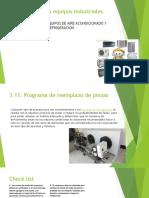 mantenimiento a sistemas de refrigeracion