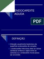 ENDOCARDITE  AGUDA