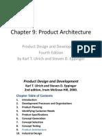 Ch09 Arch Design Ulrich