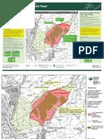 Fforest Fawr Larch Disease Maps by NRW