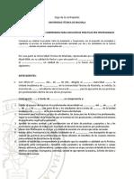 1. Formato de Carta de Compromiso
