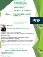 MODULO I - Fundamento de Gestão Empresarial
