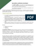 Pedagogía analítica, cientificista y tecnológica.docx