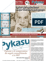 Pykasu Numero 1 Revista Digital - Sep - Mayo 2017 - Portalguarani