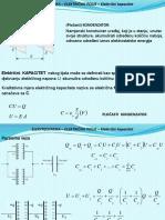 EE III Sedmica Elektrostatika Električni Kapacitet