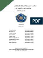 LAPORAN PRAKTIKUM REKAYASA LALULINTAS Revisi tgl 18 mei 2015.docx