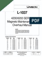 Manual - Magneto Slick 4200&6200