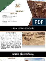 Arqueologia y Conservacion
