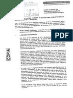 Nuevo Perú denuncia a Becerril y pide desafuero
