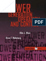 Power Generation, Operation and Control_Allen J. Wood