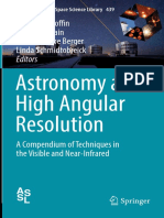 Astronomy at High Angular Resolution