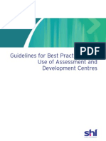 Copy of Best Practice for AssessmentandDevelopment Centres