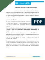 Micro Vivero Familiar y Escolar y Forestacion Urbana