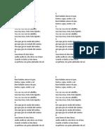 Fantasia Brasileña Quadlibet Letras