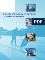 Energy Efficiency in Finland a Competitive Approach