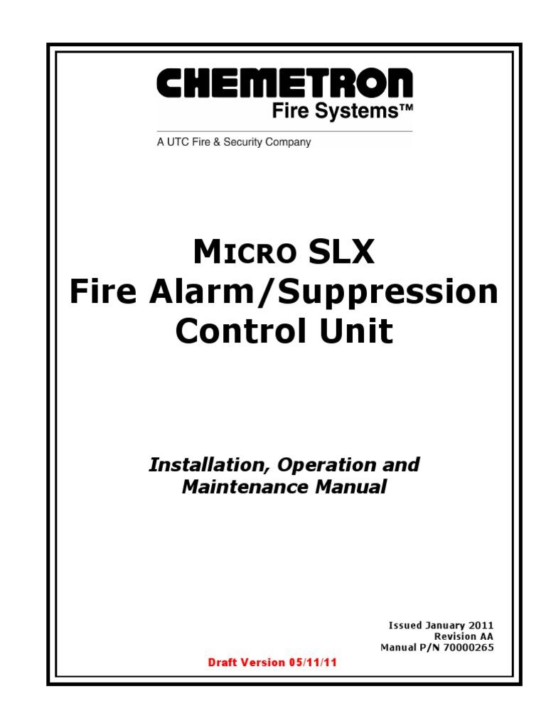 chemetron micro 1 manual