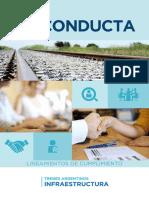 Codigo de Conducta Trenes Argentinos Infraestructura