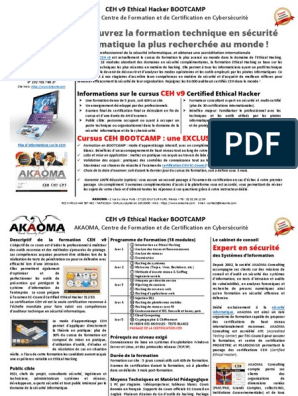 CEH V9 EBOOK TÉLÉCHARGER ISO (GRATUITE EXERCICES FORMATION OUTILS