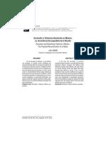 Dialnet-ExclusionYViolenciaDisolventeEnMexicoLaReconstrucc-4231473