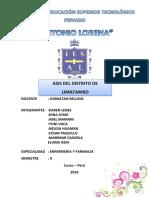 Monografia de Limatambo