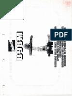Catálogo Belotti B98M