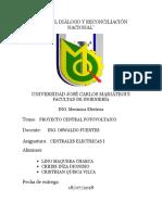 Imforme de Centrales Fotovoltaica - Proyecto Ok