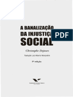 Banalização Da Injustiça Social - Dejours- Cap. 2
