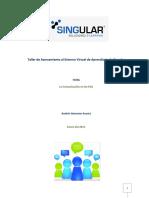 La Comunicación en Los EVA -Singular
